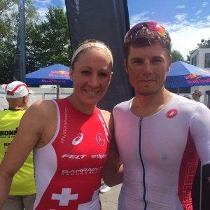 Daniela Ryf und Christian Schneble
