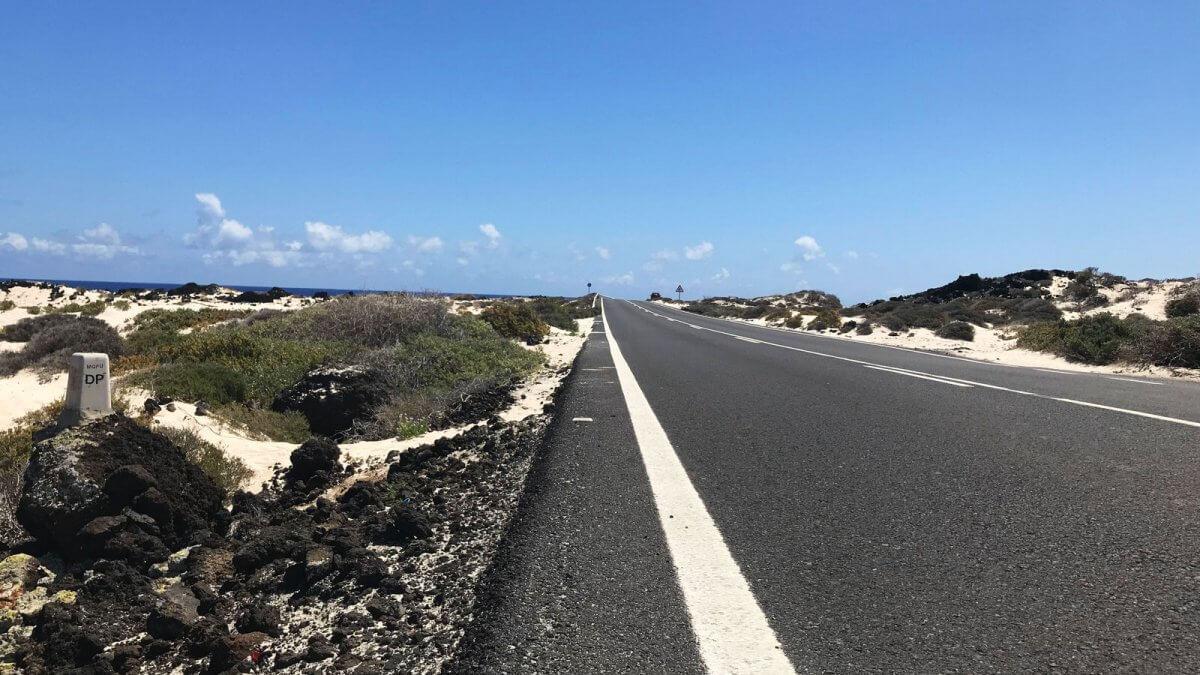 Lanzarote Road to Orzola