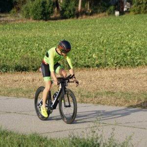 Radpart beim Triathlon Schaffhausen 2018