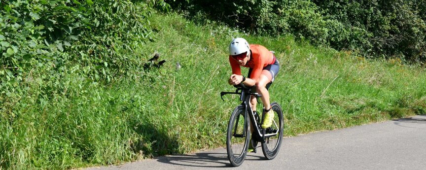 Bike Schaffhauser Triathlon 2021 Bild: Willi Burkart, Hansueli Krapf