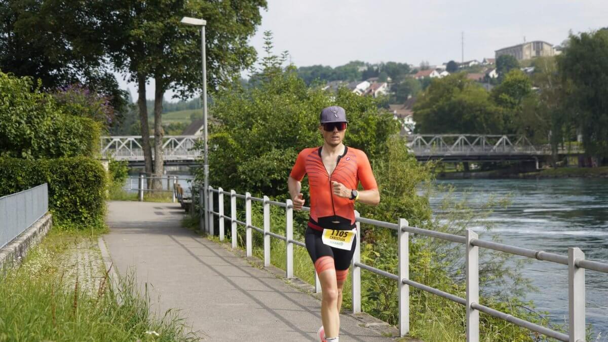 Run Schaffhauser Triathlon 2021 Bild: Willi Burkart, Hansueli Krapf