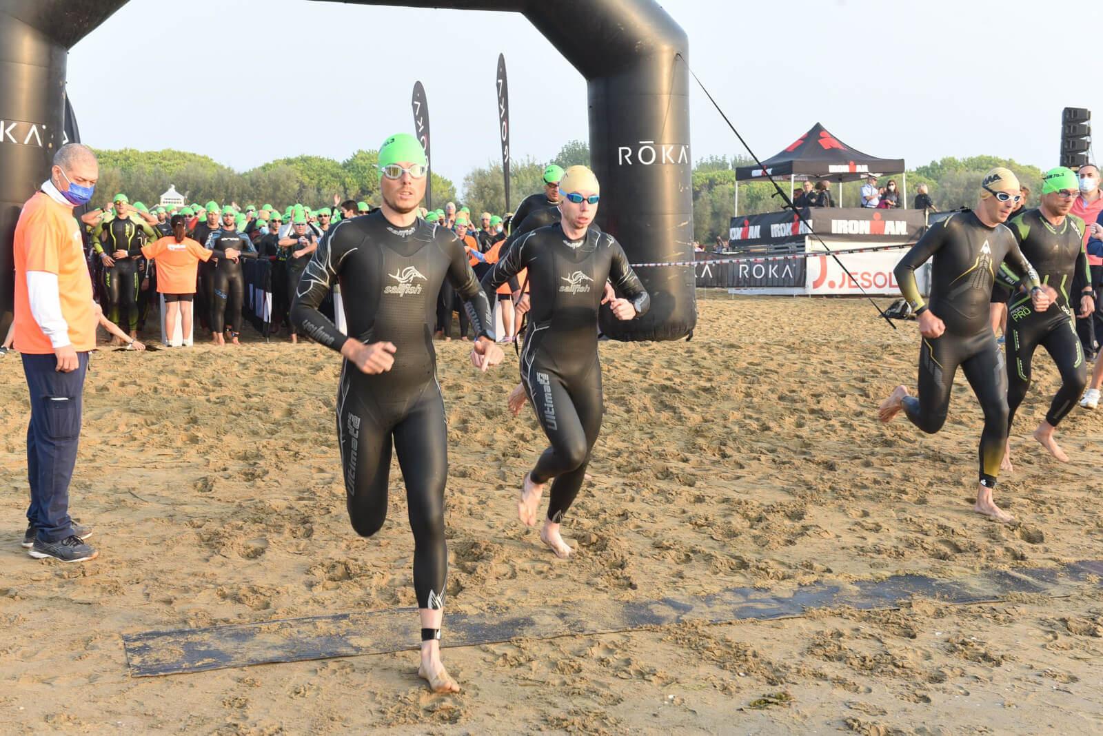 Swim Ironman 70.3 Venice-Jesolo 2021 Bild: FinisherPix